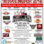 Tri-state bikefest and poker run