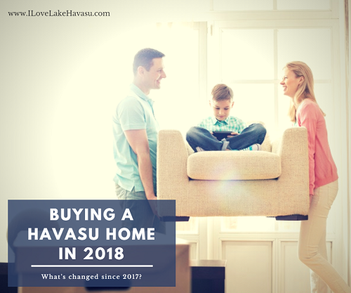 When buying a Havasu home in 2018, there are some things to be on the lookout that weren't necessarily issues last year, like the new tax code, online red flags, and buyer competition.
