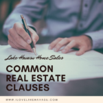 Most Havasu real estate transactions involve these common real estate clauses. If a buyer requests other contingencies, talk to your agent before accepting.
