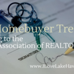 The National Association of REALTORS® recently released theirs findings of 2018 homebuyer trends. Sellers can use this info to help sell their home faster.